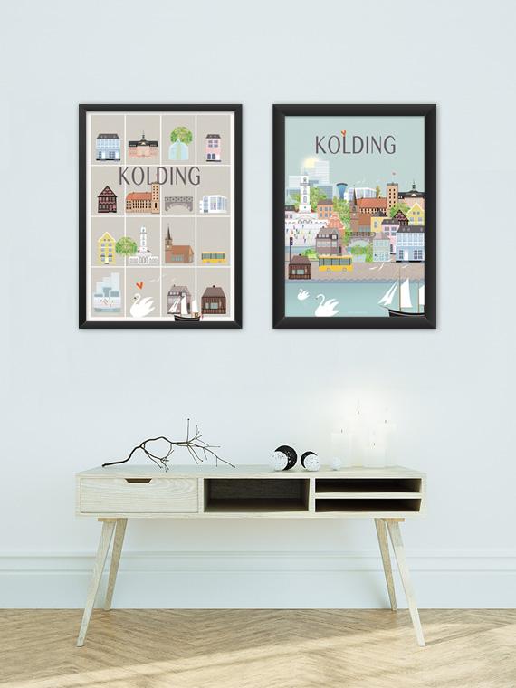 2 kolding plakater