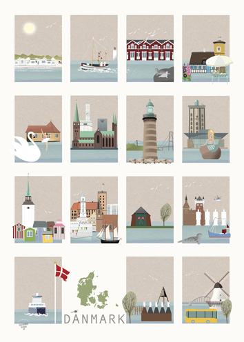 Danmark plakat No. 2.